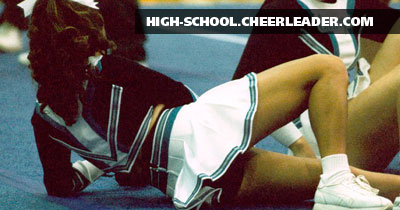 Candid pictures of High School Cheerleaders from around the country.